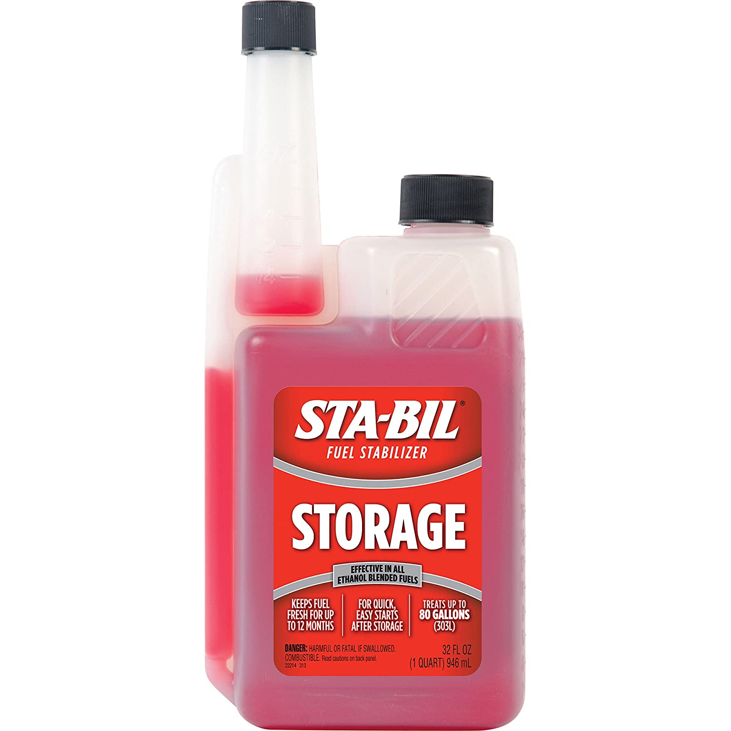 1. STA-BIL 22214 Fuel Stabilizer (32 oz.), 32. Fluid_Ounces