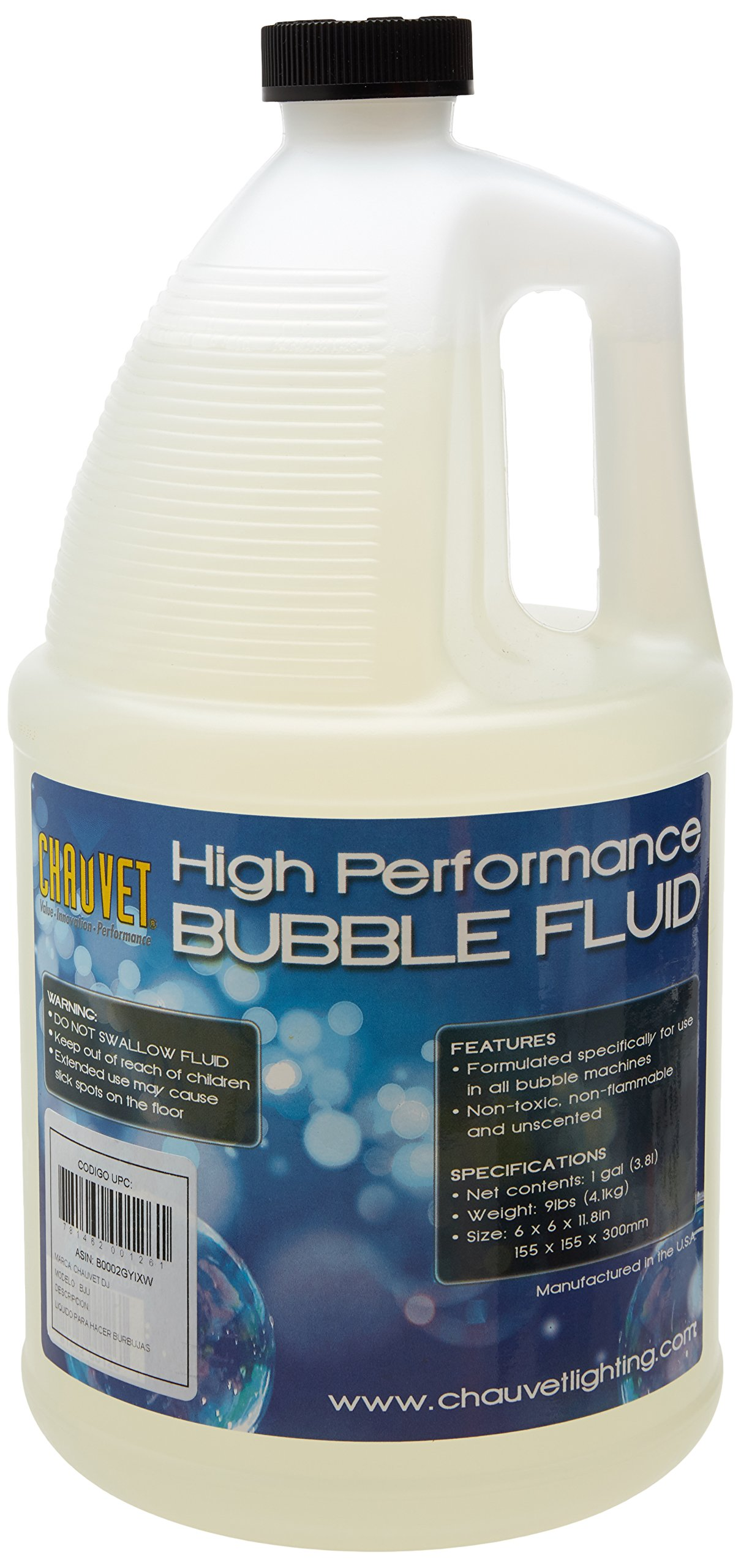 CHAUVET DJ Bubble Machine Fluid - 1 Gallon