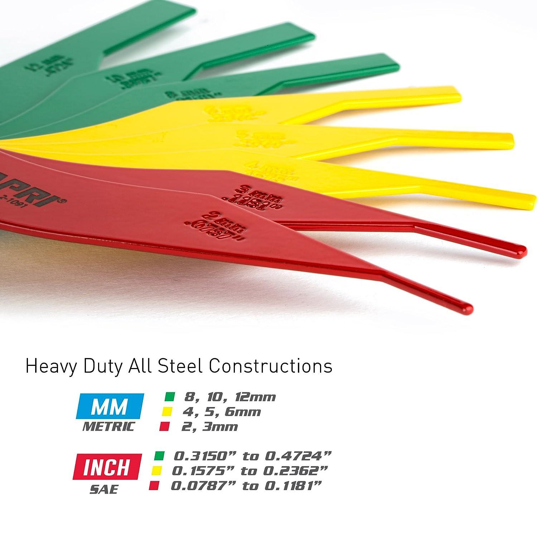 Heavy Duty Steel Constructions Capri Tools Brake Lining Thickness Gauge
