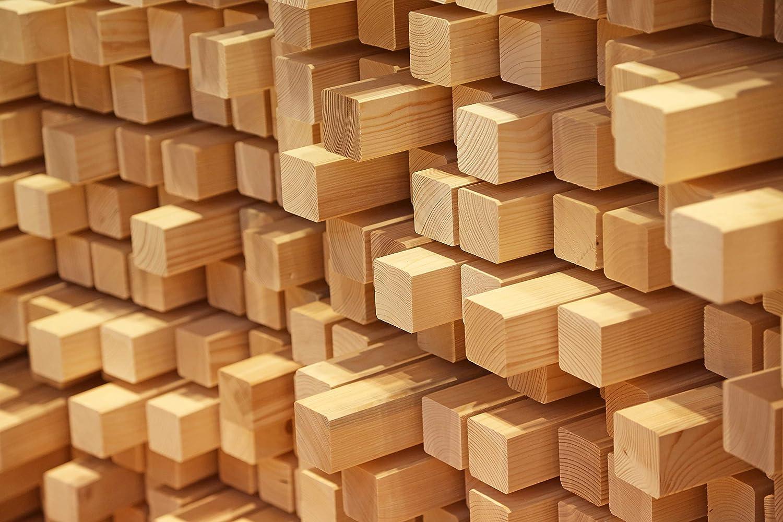 24 x 48 x 2000mm Kantholz Latte 2m ab 1,15/€//m Kreuzrahmen Bauholz Konstruktionsholz Holzbalken Rahmen