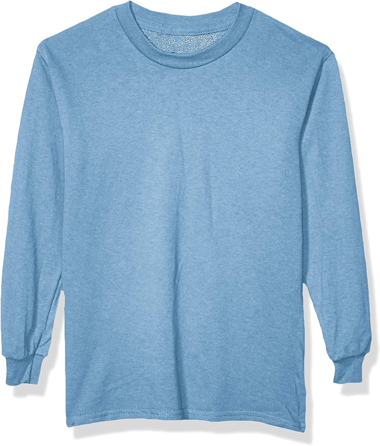 Soffe Big Boys Long Sleeve Cotton T-Shirt