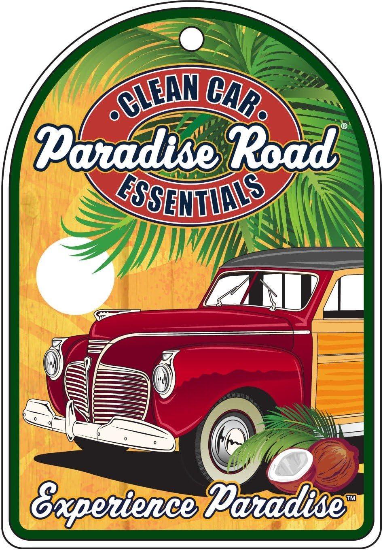 Amazon.es: Surf City Garaje Paradise carretera experiencia – Ambientador para coche, aroma de pino – Pack de 3