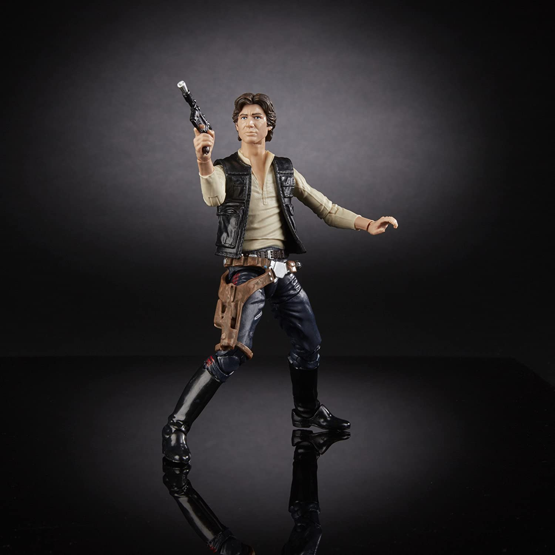 Star Wars The Black Series 40th Anniversary Han Solo 6 Inch Figure Hasbro C1689