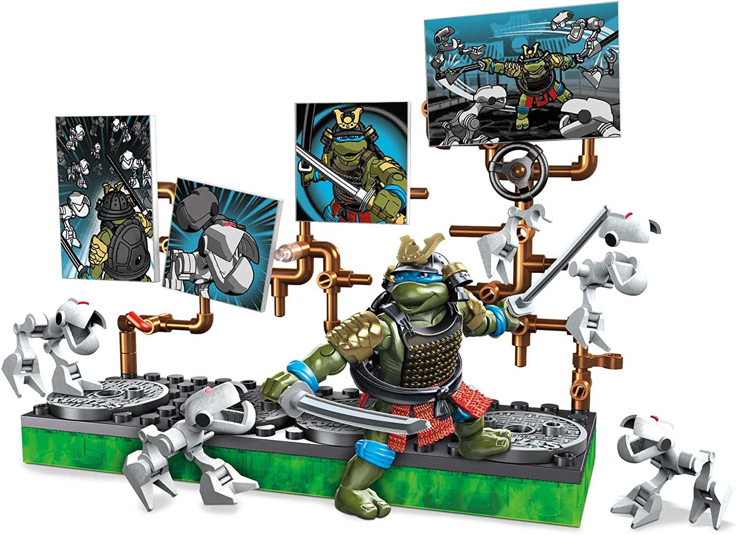 Amazon.com: Mega construx Teenage Mutant Ninja Turtles ...