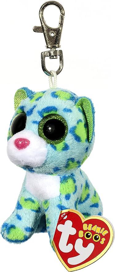 TY Dotty Leopard Beanie Boo clip porte-clés