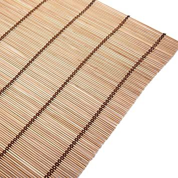 Amazon De Wufeng Bambus Vorhang Schatten Rolltor Schlafzimmer