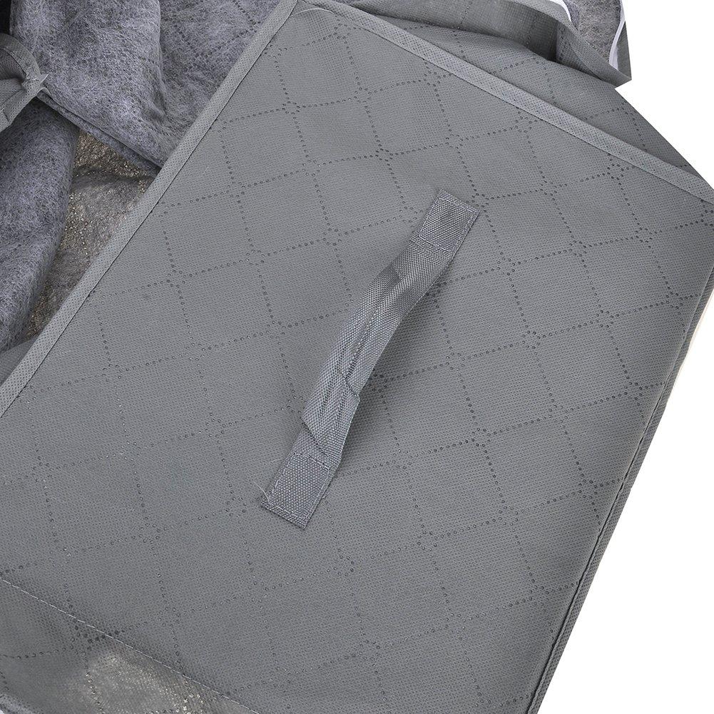 Amazon.com: Venkaite Storage Bag, 62L Adjustable Folding Bamboo Charcoal Storage Case: Home & Kitchen