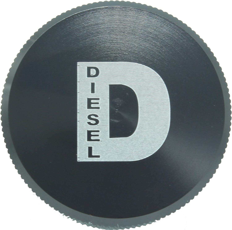 Green Diesel Fuel Cap Accessory For Dodge RAM TRUCK 1500 2500 3500 2013-2018