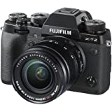 Fujifilm X-T2 Mirrorless Digital Camera with 18-55mm F2.8-4.0 R LM OIS Lens (International Version, No Warranty)