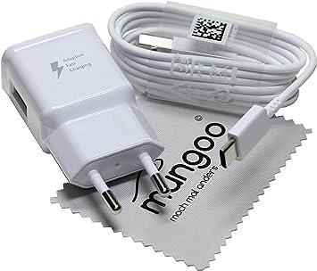 Cargador para Original Flash rápido Samsung 2A + USB Cable de tipo C Cable de carga de datos para Samsung Galaxy S8 (G950F), Galaxy S8+, Galaxy S8