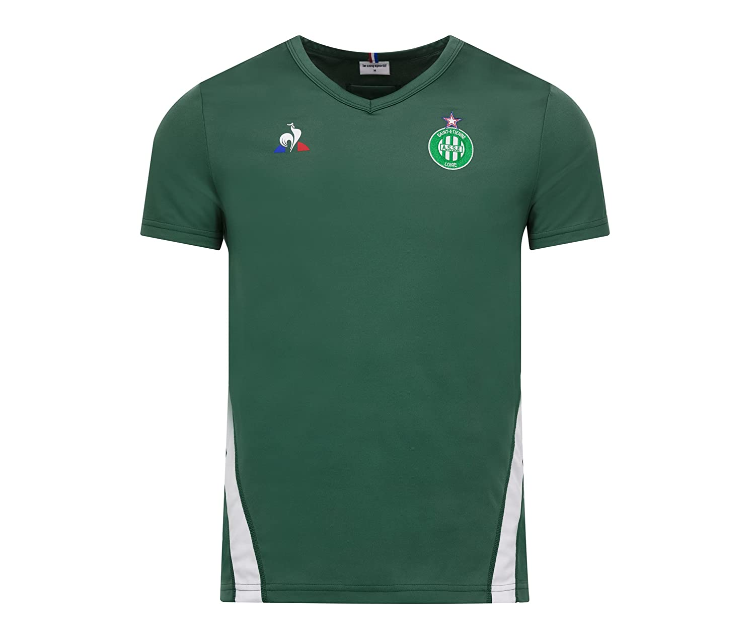 d3a1a584be82 Amazon.com   Le Coq Sportif 2018-2019 St Etienne Training Football Soccer  T-Shirt Jersey (Green)   Sports   Outdoors
