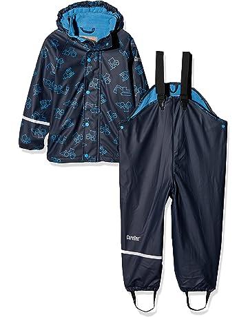 883af823d6e55 CareTec Veste Imperméable Enfants avec Pantalon de pluie (différentes  couleurs)