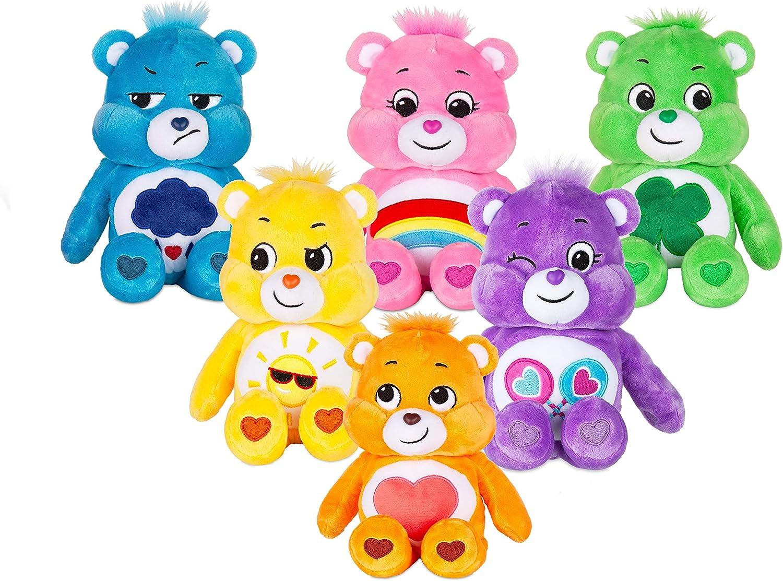 Care Bears Peluche Haricot de 9 Pouces Grumpy Bear