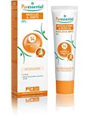 Puressentiel Muscles and Joints Gel 60 ml  – Naturally soothe & relax sensitive areas - 100% natural origin - Pure essential oils - Wintergreen, Peppermint, Eucalyptus - Preservative & fragrance free