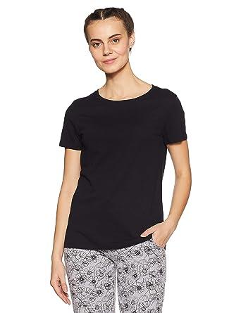 fb545c0013 Van Heusen Athleisure Woman Women's T-Shirt: Amazon.in: Clothing ...