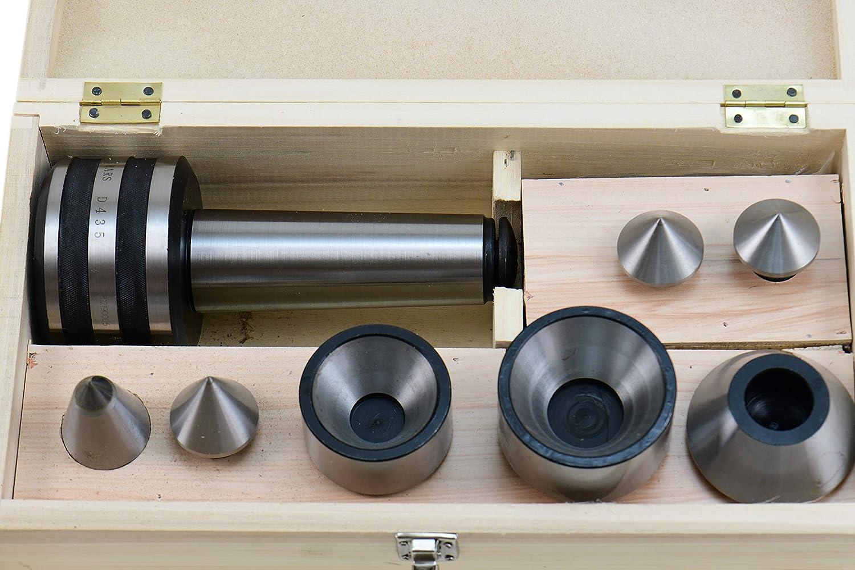 SHARS 5 MT Morse Interchangeable Taper Medium Duty CNC Live Center Set 202-3428 M
