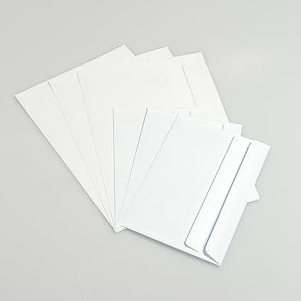 100 A6 C6 Plain White Self Seal Wallet Letter Invite Envelopes 162mm x 114mm