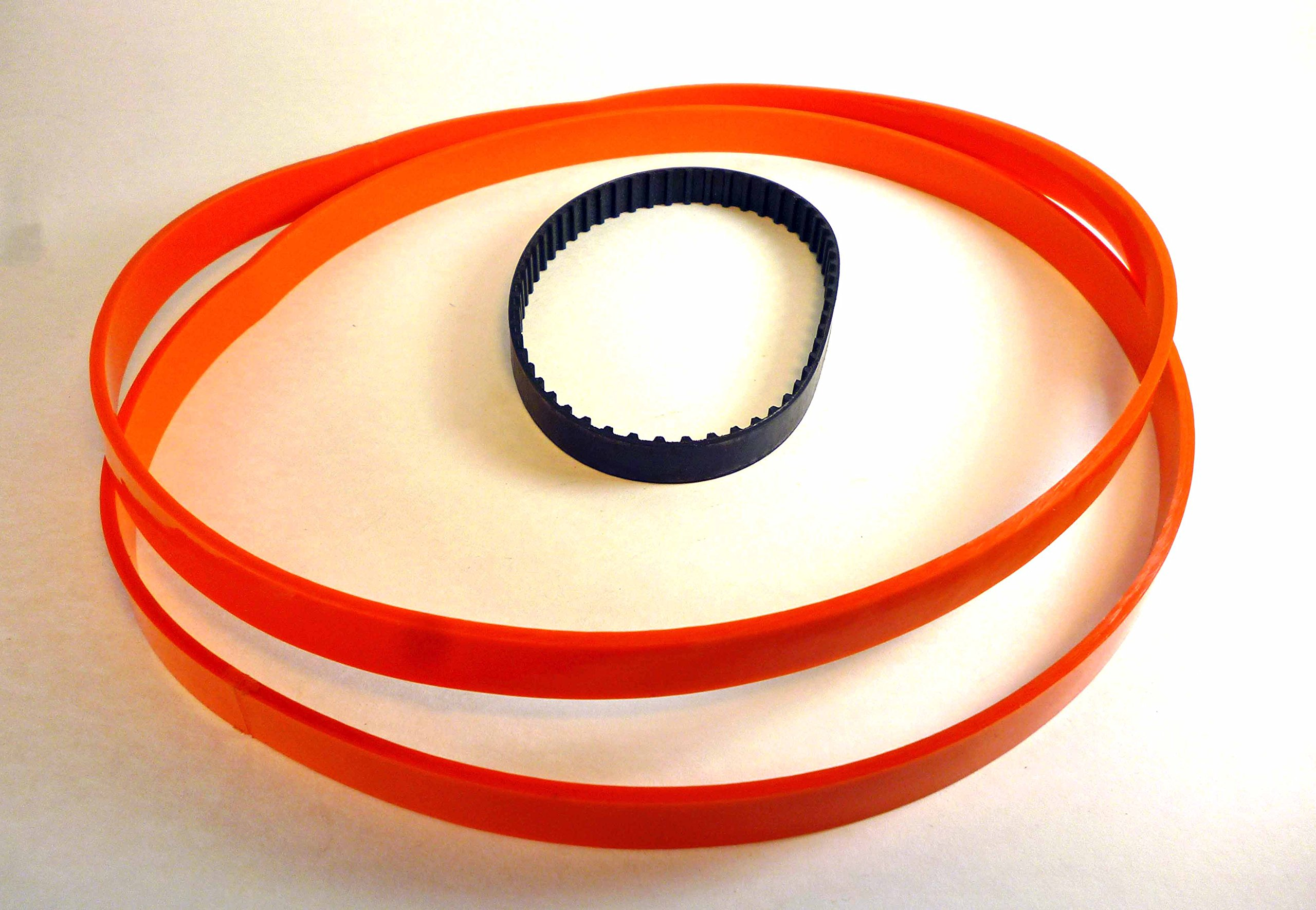 Urethane Band Saw 2 TIRES + 1 Toothed DRIVE BELT for DELTA BS100 BandSaw