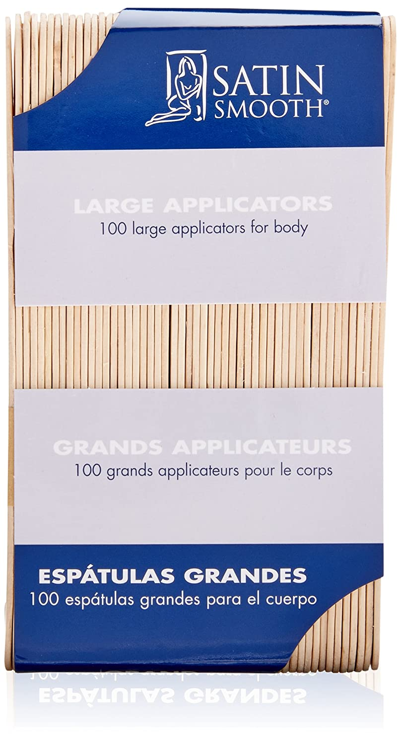 SATIN SMOOTH Applicators, Large 100ct, SSWA03