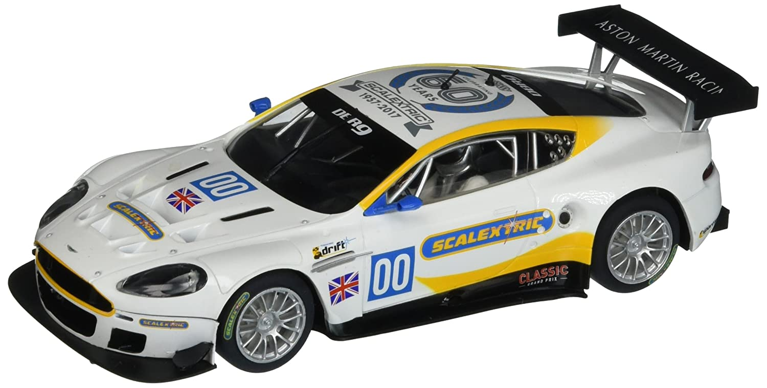 Scalextric C3830A 60th Anniversary Collection 2000s Aston Martin DBR9 Limited Edition