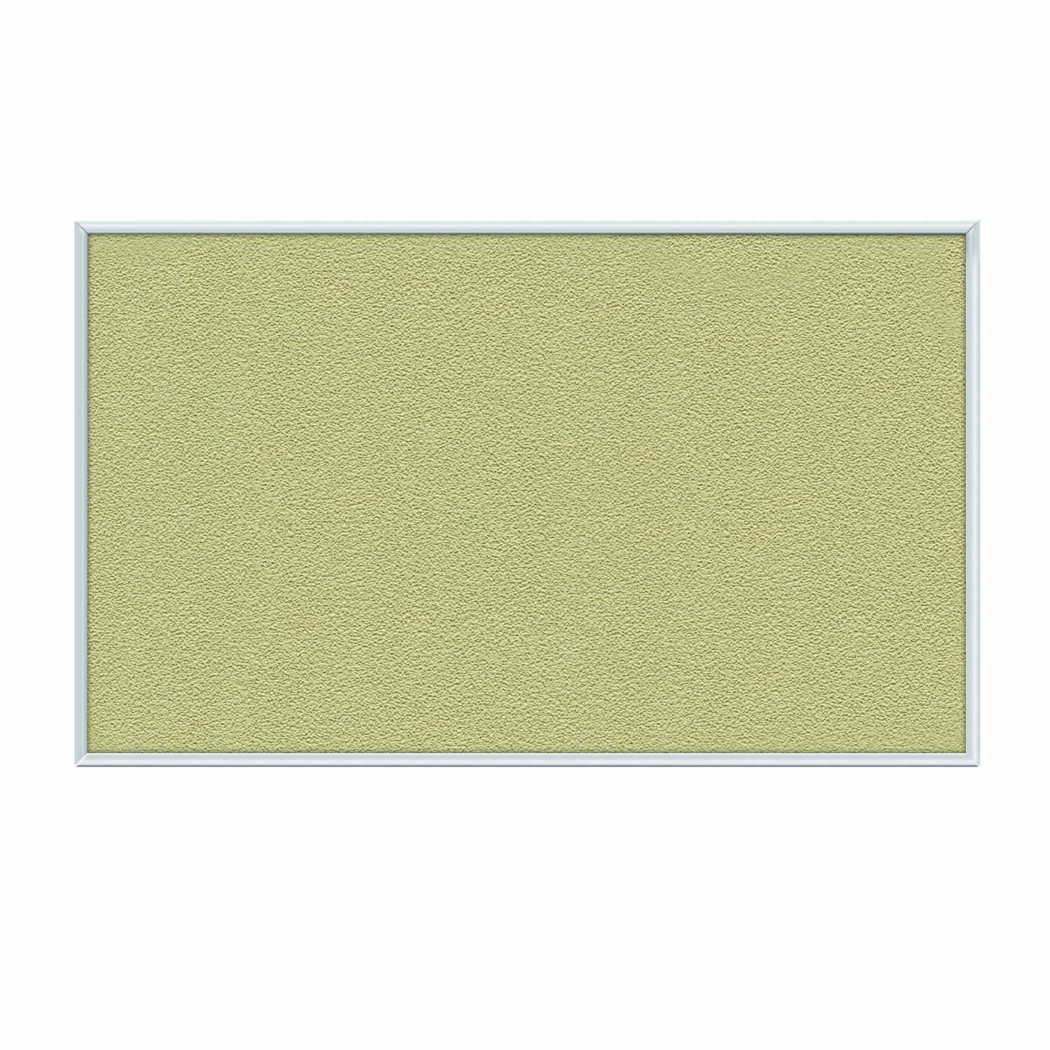 Ghent Caramel Vinyl Bulletin Board, 4.5'' x 6.5'', Aluminum Frame, Made in the USA by Ghent