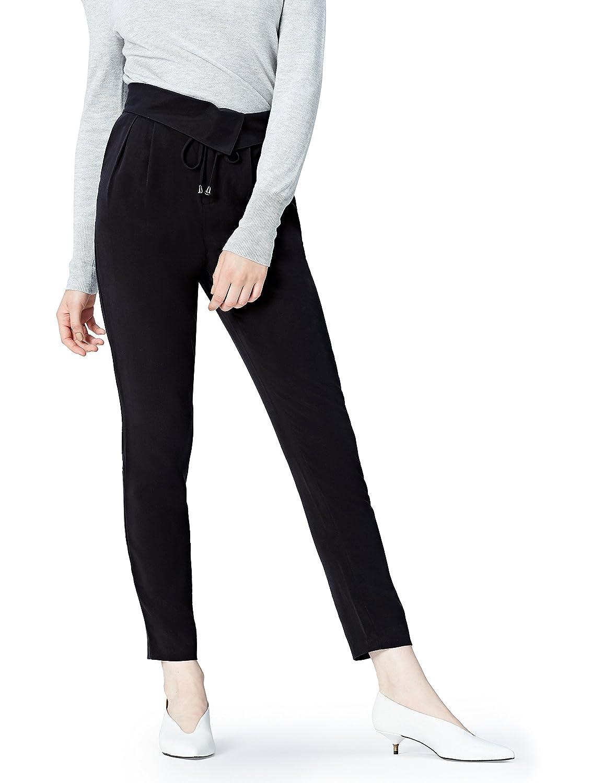 FIND Hose Damen mit Wickeldesign und Schnüren FP04138