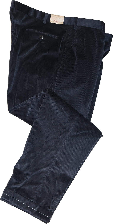 Brioni Blue Corduroy Brenta Casual Pants 44