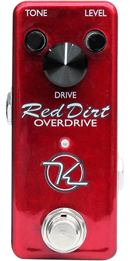 Amazon.com: Keeley Red Dirt Mini Overdrive Guitar Effects Pedal: Musical Instruments