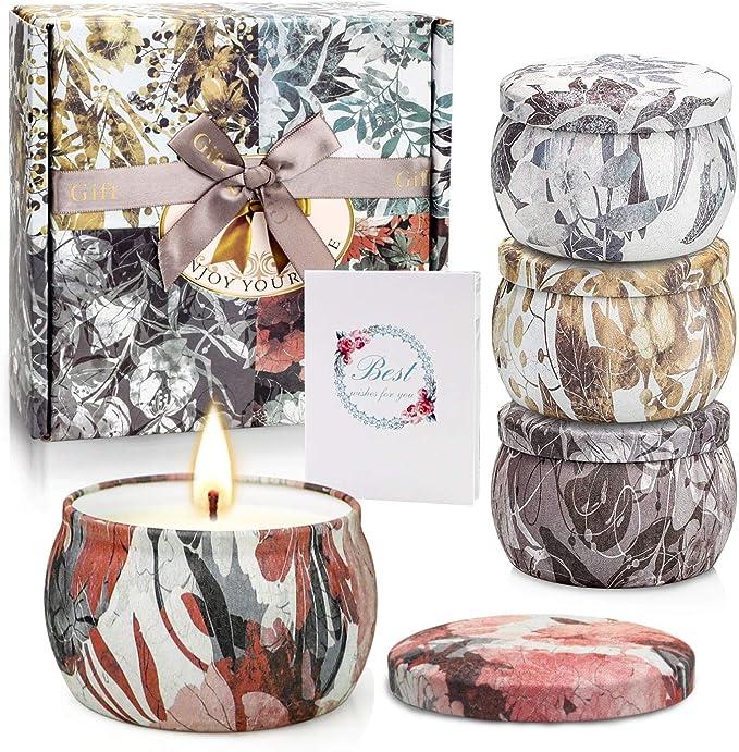 8oz Candle Jar Pomegranate Cider Candle All Natural Soy Best Scented Candle Wedding Favor Vegan Candle Red Candle Soy Candle