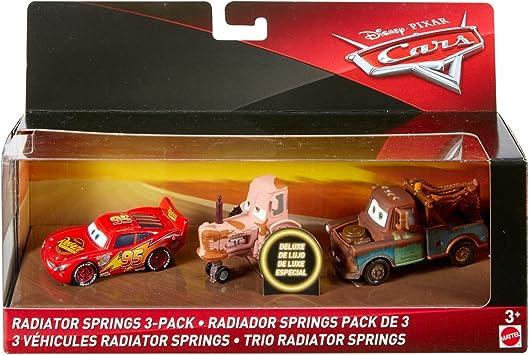 Cars 3- Trío Radiatos Springs, Multicolor (Mattel FLJ91): Amazon.es: Juguetes y juegos