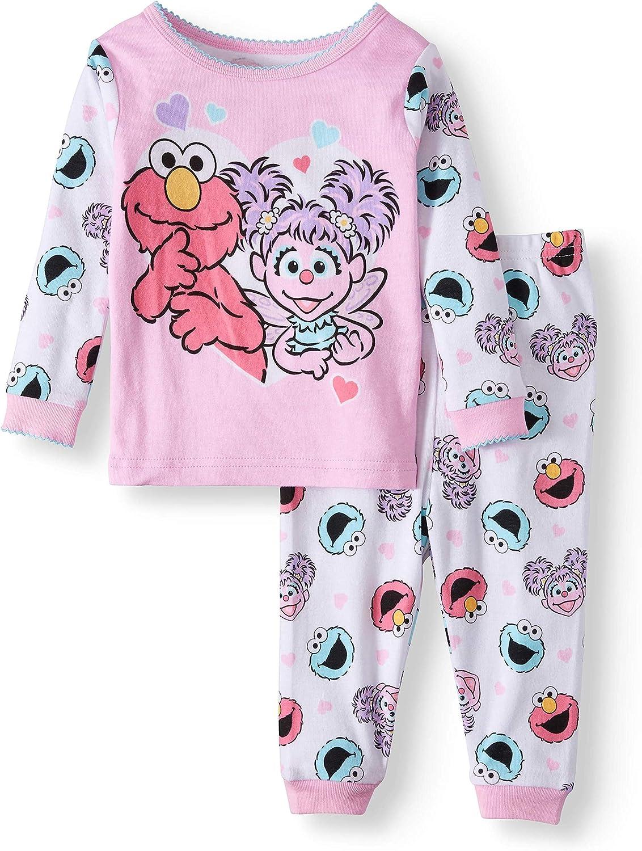 Sesame Street 2 Pack Bodysuit Featuring Abby Baby Girl