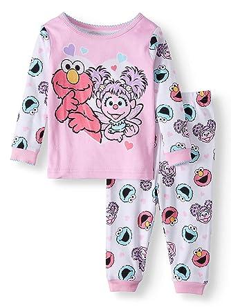 f5a6d61b41 Amazon.com  Sesame Street Elmo and Abby Cadabby Baby Girl 2 Piece ...