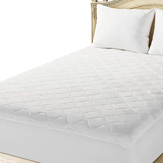 Amazon.com: The Grand Twin Extra Long Mattress Pad Cover Fitted