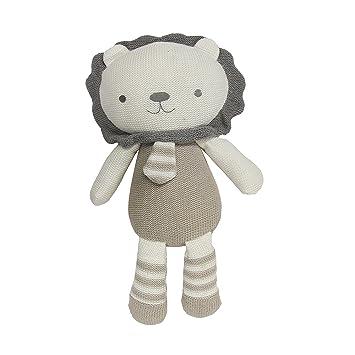 Amazon Living Textiles Plush Toy Austin Lion Knitted Lion