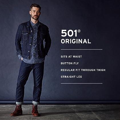 Levi's Men's 501 Original-Fit Jean