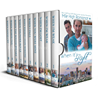Mile High Romance - Full Series: M/M Contemporary Romance (English Edition)