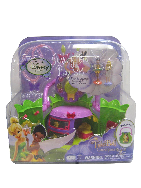 Amazoncom Disney Fairies Tinkerbell Jewelry Box Playset blistered