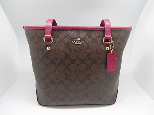 Coach Top zipped purse 6nL6x