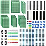 WayinTop PCB Board Kit, Double Sided Prototype Boards 6 Sizes 40 Pin 2.54mm Male/Female Header Connector 2/3Pin Screw…