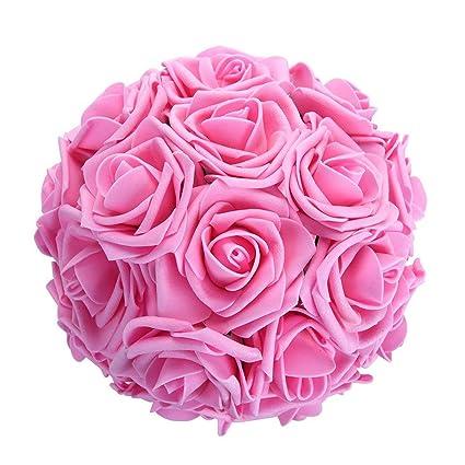 Buy TiedRibbons 10 Heads/Bunch 8cm Artificial PE Rose Flowers ...