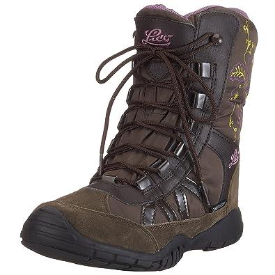 dd743cd9f386 Lico Kristin Boots Girls Brown Braun (braun lila) Size  11 (29 EU ...