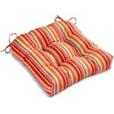 South Pine Porch AM4800-WATERMELON Watermelon Stripe Outdoor 20-inch Seat Cushion