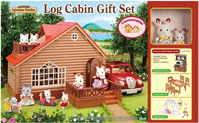Amazon.es: Sylvanian Families A1 Exclusive Log Cabin Gift Set With ...