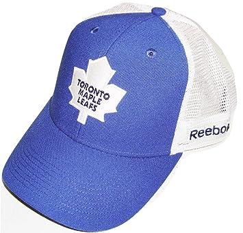 52df61cf549 Reebok Toronto Maple Leafs Sin Bin Blue White Mesh Snapback Hat Osfa ...