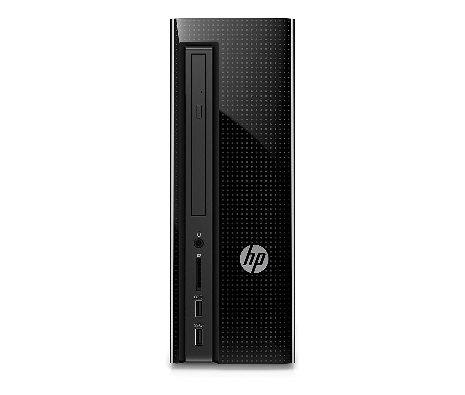 HP Slimline 260-p122nl Desktop PC de 8 GB, i3 – 6100T IPS, Disco Duro 1000 GB, Intel HD, Color Negro [Layout Italiano]