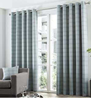 Curtains Ideas charcoal and cream curtains : Bonnie Lined Eyelet Curtains 90