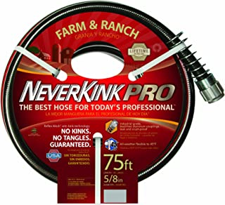 product image for Teknor Apex Neverkink, 8846-75 Farm & Ranch Water Hose, 5/8-In x 75-feet