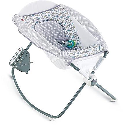 Fisher-Price Newborn Auto Rock n Play Sleeper, Aqua Stone Fashion by Fisher