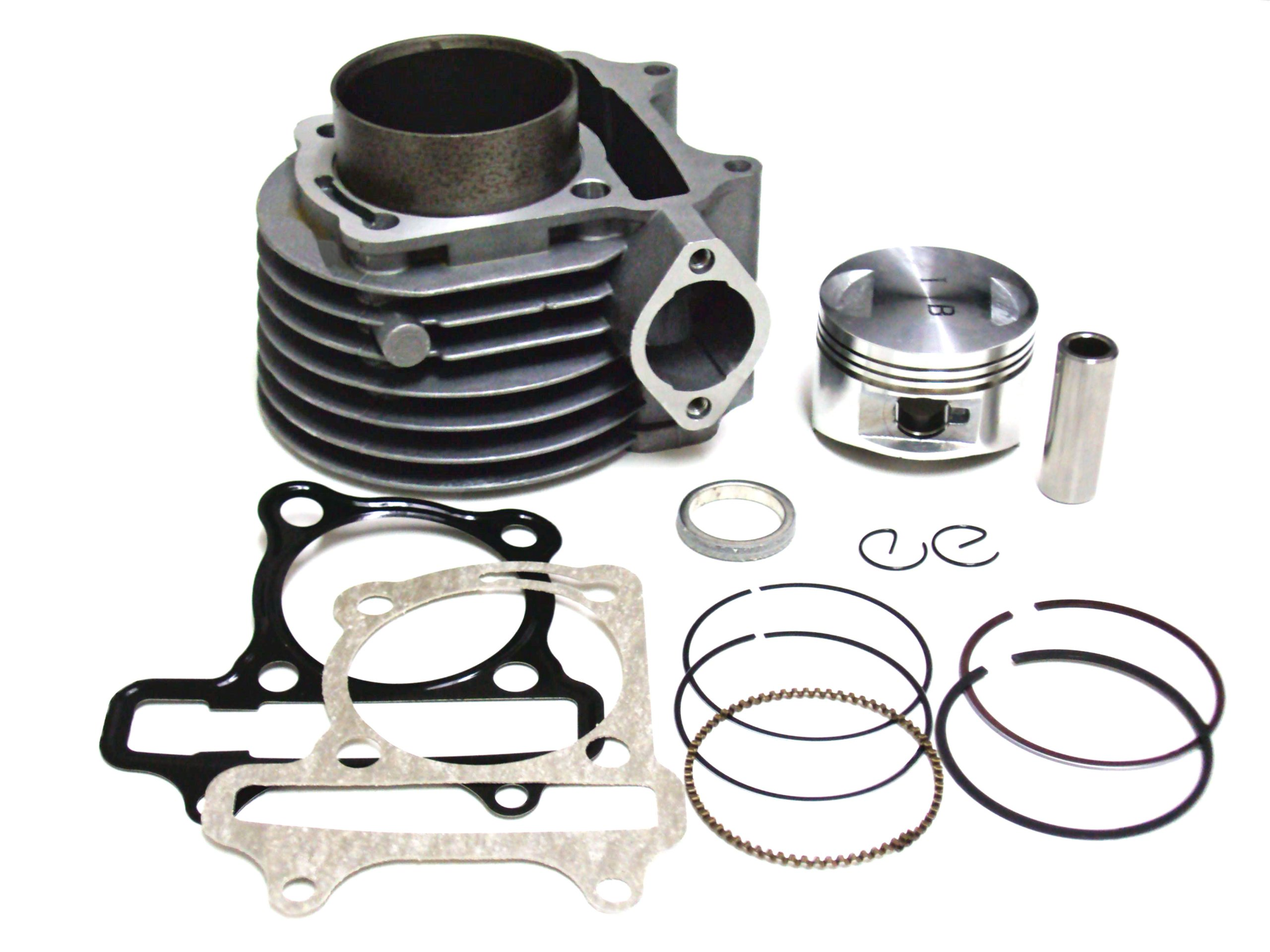 Complete Cylinder Kit 125cc 150cc 4 Stroke GY6 Chinese Scooters Moped ATV