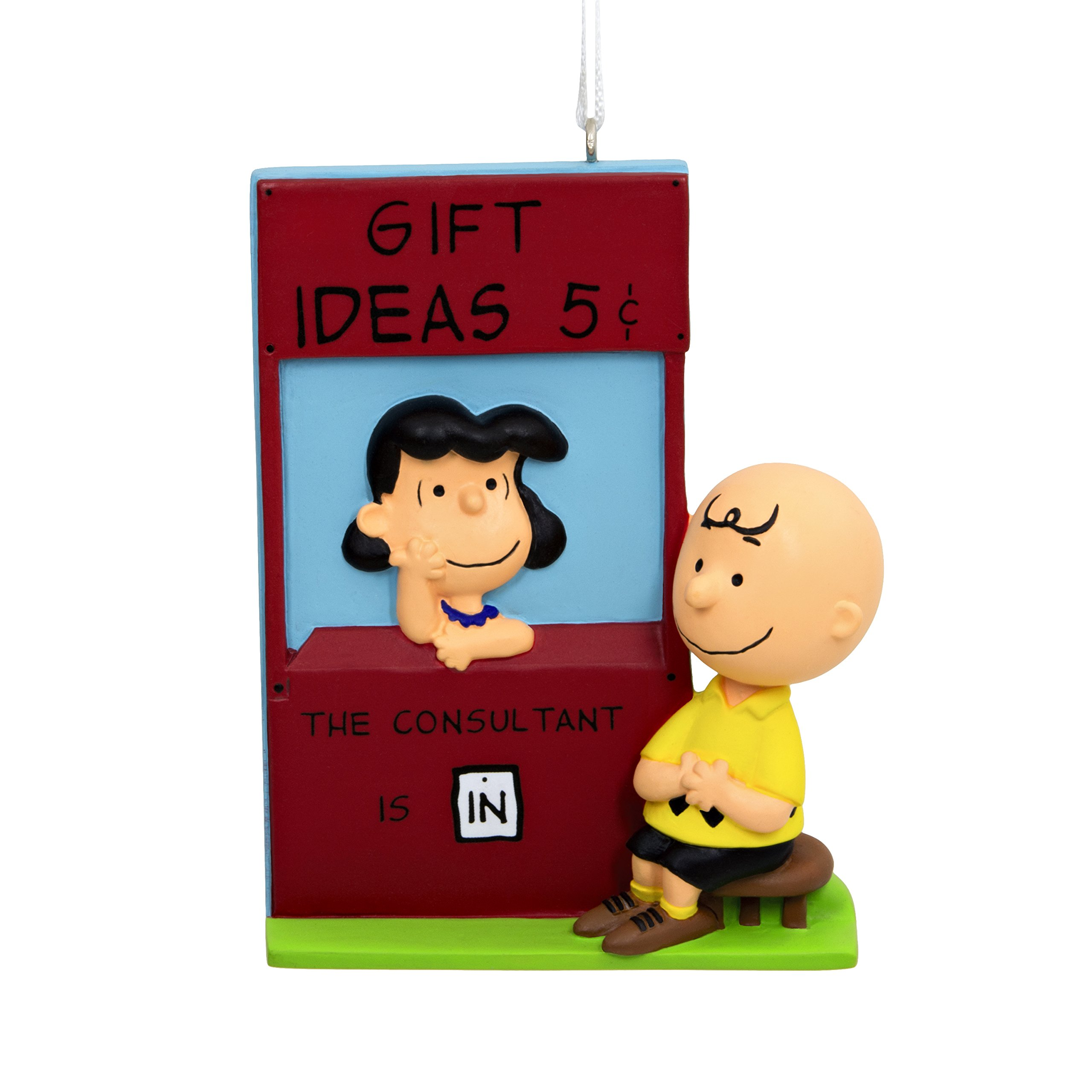 Hallmark Peanuts Lucy Christmas Ornament